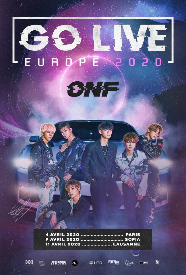 ONF европейско турне